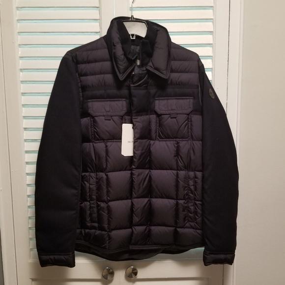 46a40bb87 NWT Moncler Blais Giubotto Down Jacket Size 4 NWT